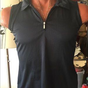 Ladies dri-fit golf top